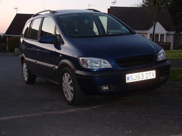 Picture of 2003 Vauxhall Zafira