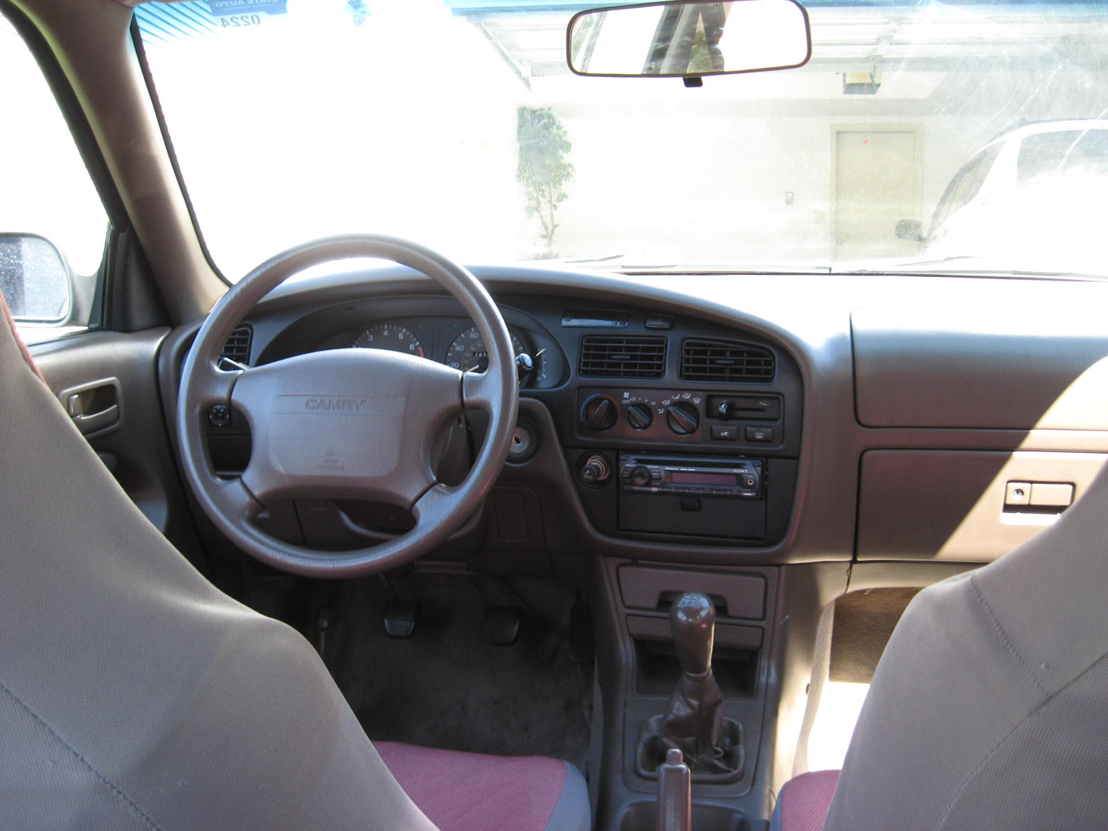 Picture of 1995 Toyota Camry DX, interior