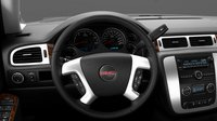 2013 GMC Yukon, Steering Wheel., interior, manufacturer