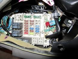 Chrysler Sebring Questions where is the fuse box located