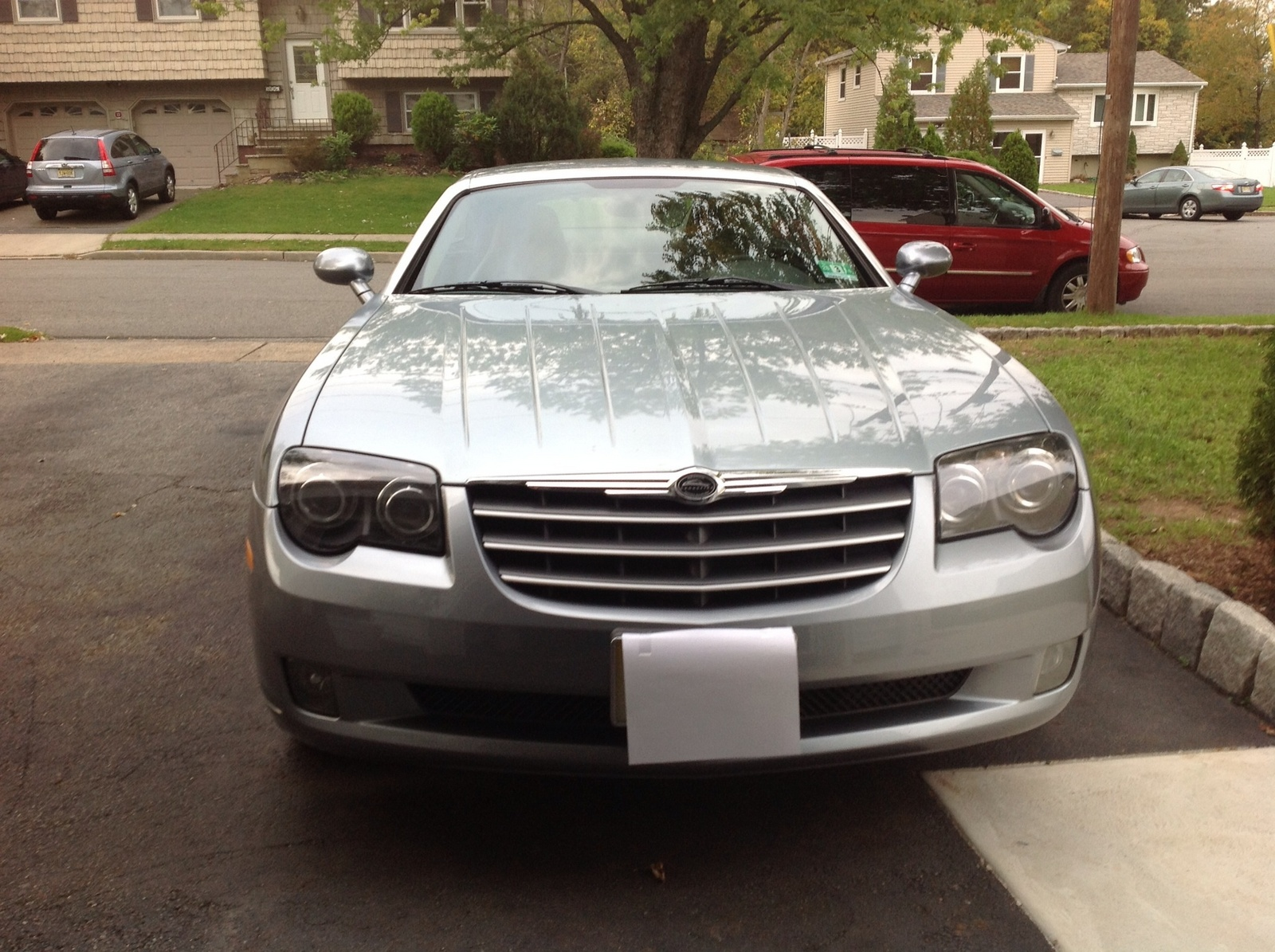 picture of 2005 chrysler crossfire coupe limited exterior. Cars Review. Best American Auto & Cars Review