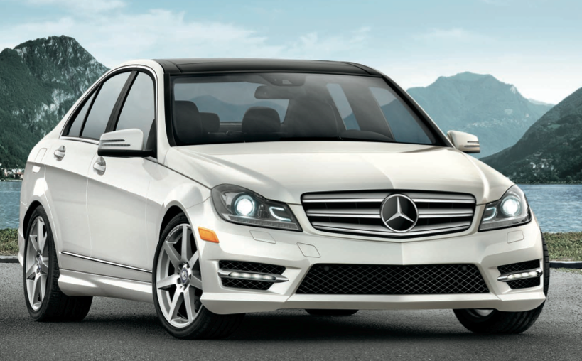 2013 Mercedes-Benz C-Class, Front quarter view., exterior, manufacturer