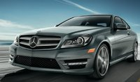 2013 Mercedes-Benz C-Class, Front quarter view., manufacturer, exterior