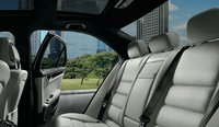 2013 Mercedes-Benz C-Class, Back Seat., interior, manufacturer