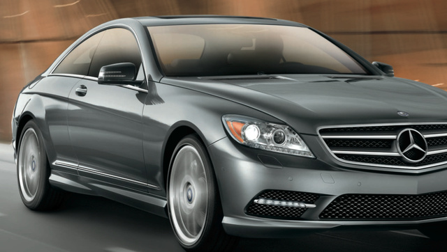2013 Mercedes-Benz CL-Class, Front quarter view., exterior, manufacturer