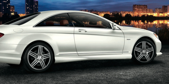 2013 Mercedes-Benz CL-Class, Back quarter view., exterior, manufacturer