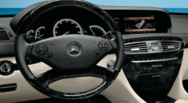 2013 Mercedes-Benz CL-Class, Steering Wheel., interior, manufacturer