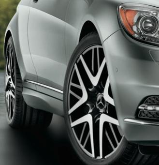 2013 Mercedes-Benz CL-Class, Front Tire., exterior, manufacturer