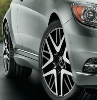 2013 Mercedes-Benz CL-Class, Front Tire., manufacturer, exterior