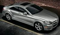 2013 Mercedes-Benz CLS-Class, Front quarter view., exterior, manufacturer