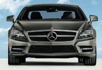 2013 Mercedes-Benz CLS-Class, Front View., exterior, manufacturer