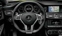 2013 Mercedes-Benz CLS-Class, Steering Wheel., interior, manufacturer