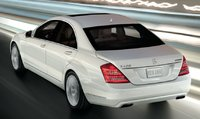 2013 Mercedes-Benz S-Class, Back quarter view., exterior, manufacturer