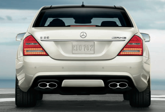 2013 Mercedes-Benz S-Class, Back View., exterior, manufacturer