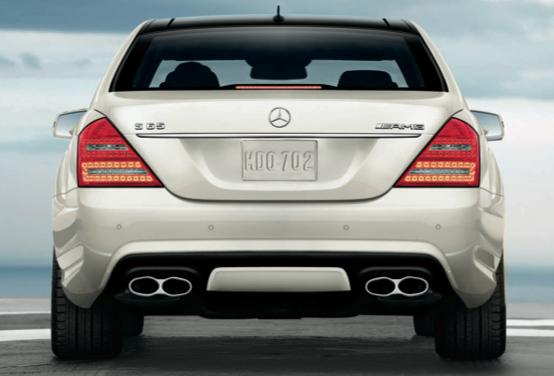 2013 Mercedes-Benz S-Class, Back View., exterior, manufacturer