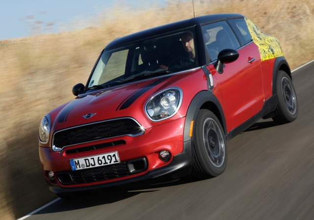 2013 MINI Cooper, Front quarter view., exterior, manufacturer, gallery_worthy