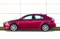 2013 Mitsubishi Lancer Sportback, Side View copyright AOL Autos., manufacturer, exterior