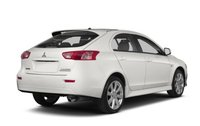 2013 Mitsubishi Lancer Sportback, Back quarter view copyright AOL Autos., exterior, manufacturer