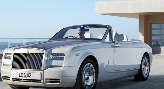 2013 Rolls-Royce Phantom Drophead Coupe, Front quarter view., exterior, manufacturer