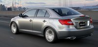 2013 Suzuki Kizashi, Back quarter view., exterior, manufacturer, gallery_worthy