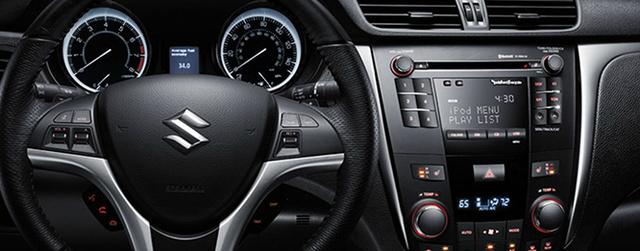 2013 Suzuki Kizashi, Steering Wheel., interior, manufacturer