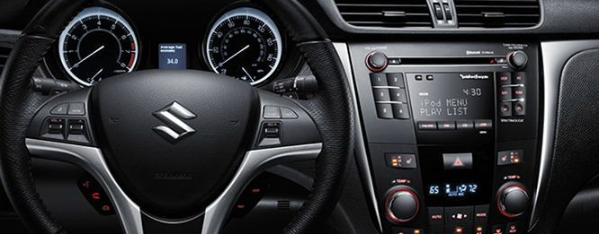 2013 Suzuki Kizashi, Steering Wheel., manufacturer, interior