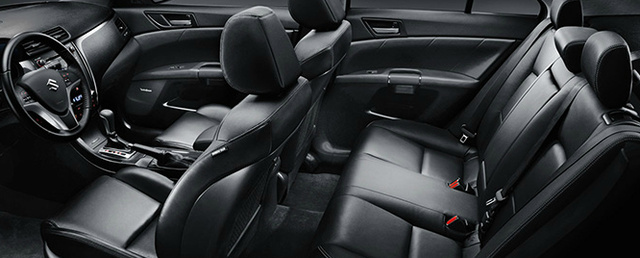 2013 Suzuki Kizashi, Front and back seat., interior, manufacturer, gallery_worthy