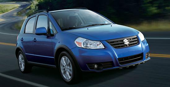 2013 Suzuki SX4, Front quarter view., exterior, manufacturer