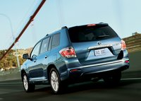 2013 Toyota Highlander, Back quarter view., exterior, manufacturer