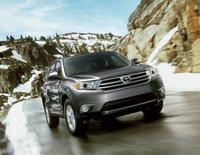 2013 Toyota Highlander, Front View., exterior, manufacturer