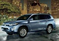 2013 Toyota Highlander, Front quarter view., exterior, manufacturer