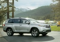 2013 Toyota Highlander, Side VIew., exterior, manufacturer