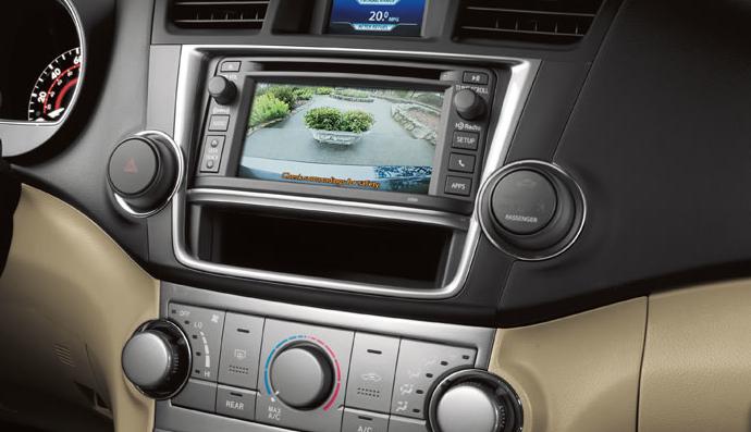2013 highlander navigation system