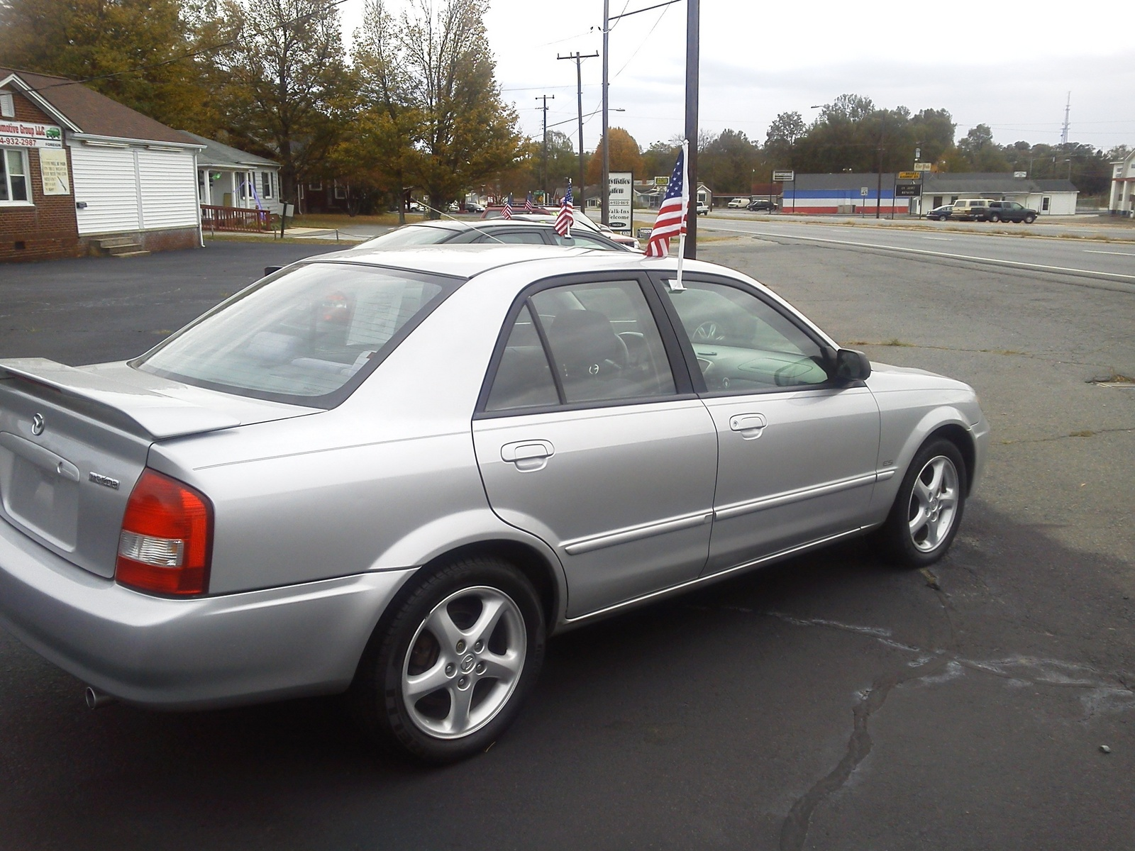 2002 Mazda Protege - Pictures