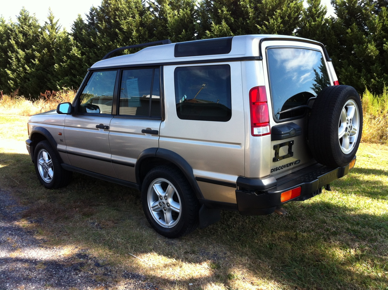 2002 land rover discovery series ii reviews and rating. Black Bedroom Furniture Sets. Home Design Ideas