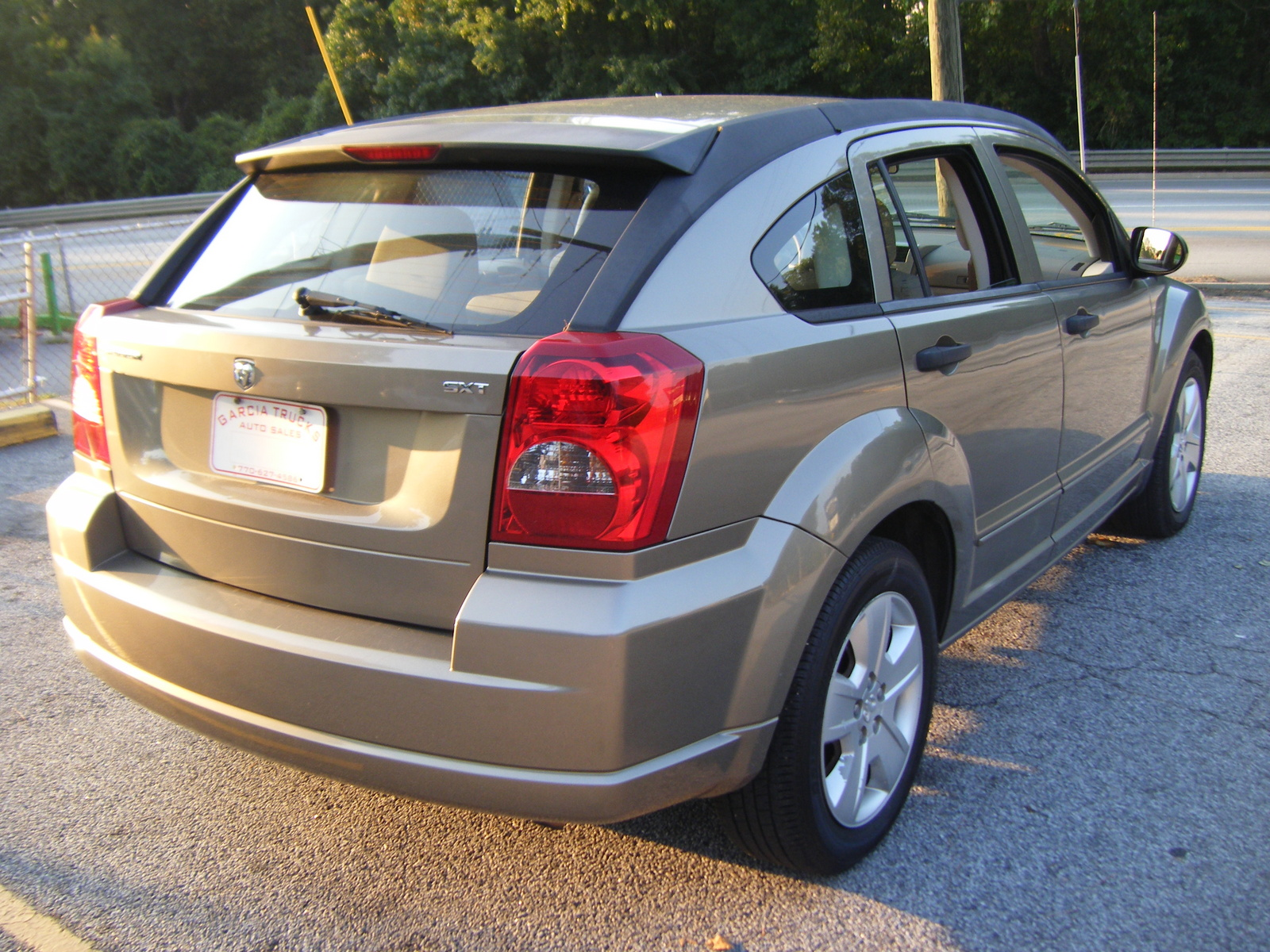 picture of 2007 dodge caliber sxt exterior. Cars Review. Best American Auto & Cars Review