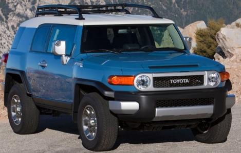 2013 Toyota FJ Cruiser, Front quarter view., exterior, manufacturer