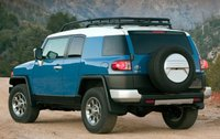 2013 Toyota FJ Cruiser, Back quarter view., manufacturer, exterior