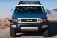 2013 Toyota FJ Cruiser, Front View., exterior, manufacturer