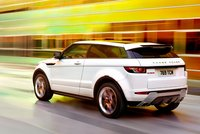 2012 Land Rover Range Rover Evoque, Back quarter view., exterior, manufacturer
