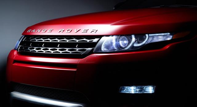 2012 Land Rover Range Rover Evoque, Hood., exterior, manufacturer