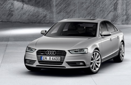 2013 Audi A4, Front View., exterior, manufacturer