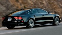 2013 Audi A7, Back quarrter view., exterior, manufacturer