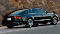 2013 Audi A7, Back quarrter view., manufacturer, exterior