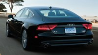 2013 Audi A7, Back quarter view., exterior, manufacturer