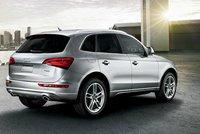 2013 Audi Q5 Hybrid, Back quarter view., exterior, manufacturer