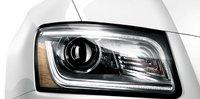 2013 Audi Q5 Hybrid, Headlight., exterior, manufacturer