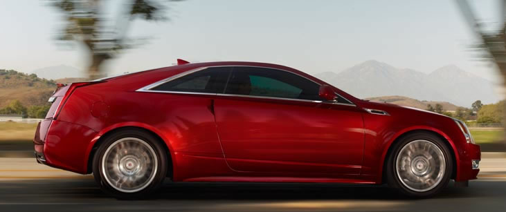 2013 Cadillac CTS Coupe, Side View., manufacturer, exterior