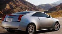 2013 Cadillac CTS Coupe, Back quarter view., exterior, manufacturer