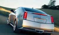 2013 Cadillac CTS Coupe, Back View., exterior, manufacturer